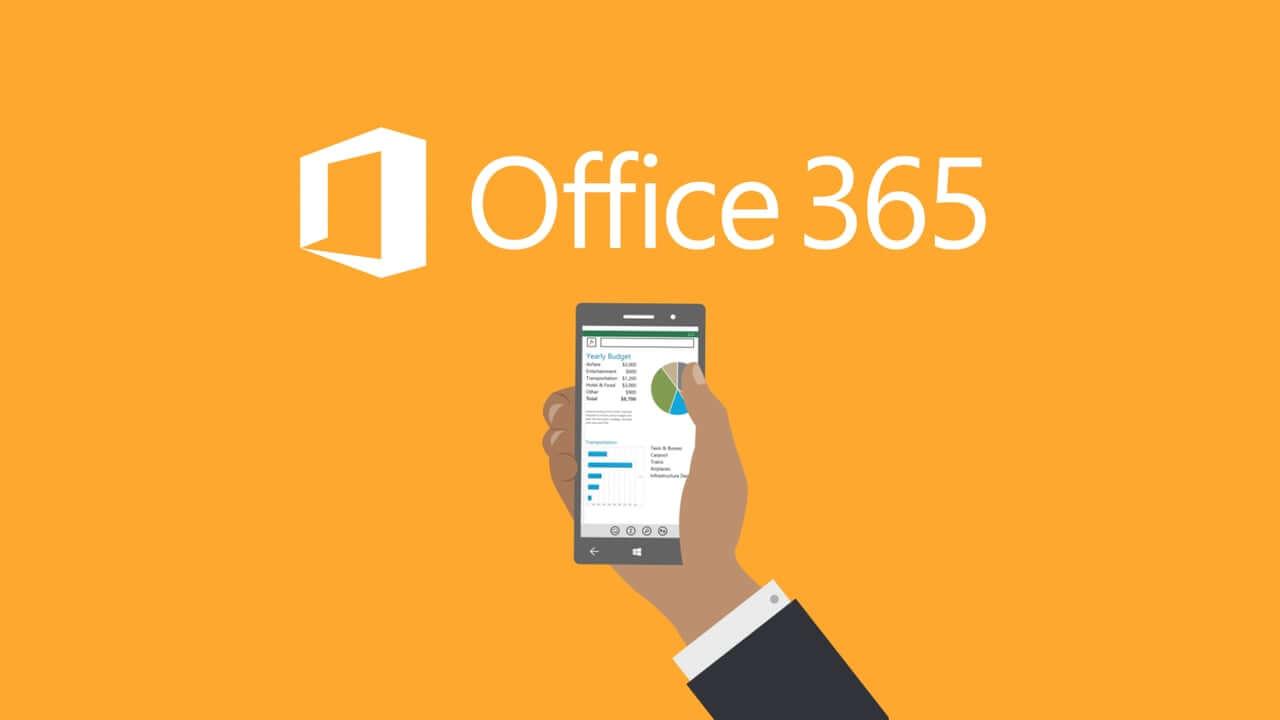 אופיס 365 מאפשר לשתף עם אחרים מכל מכשיר